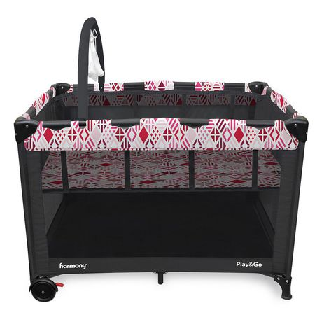 Play & Go Deluxe Playard - Pink Mosaic - image 2 of 7