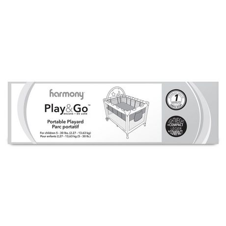 Play & Go Deluxe Playard - Pink Mosaic - image 5 of 7