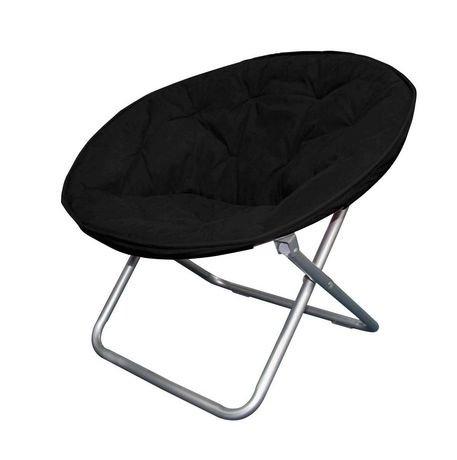 Moon Chair mainstays faux-suede moon chair | walmart canada
