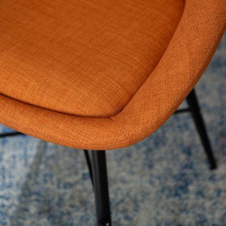 Manor Park Chaises fixes urbaines en tissu, Ensemble de 2 - Plusieurs couleurs possible - image 3 de 7