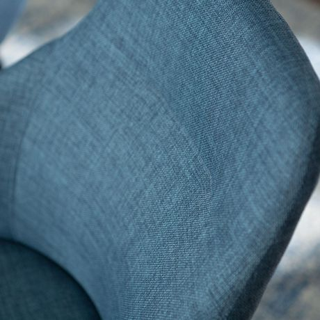 Urban Upholstered Side Chair, Set of 2 - Blue - image 3 of 8