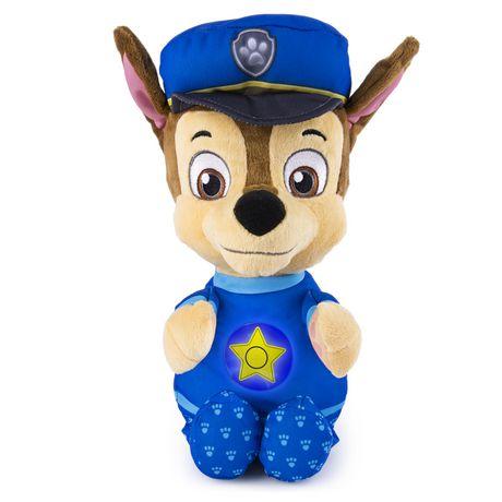 paw patrol chase snuggle up pup plush toy walmart canada