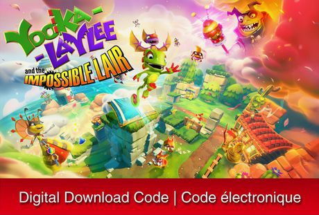Yooka-Laylee and the Impossible Lair - Best Switch Game For Kids Who Love Solving Puzzles