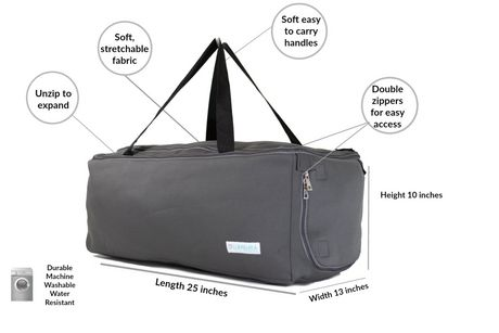 Collapsible Duffle Bag Travel Gym by LUMEHRA - image 2 of 6