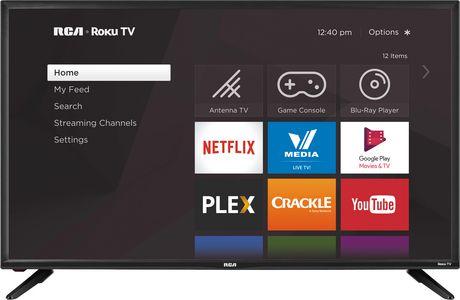 "RCA 43"" Class 4K Ultra HD (2160P) Roku Smart LED TV - image 1 of 4"