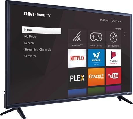 "RCA 43"" Class 4K Ultra HD (2160P) Roku Smart LED TV, RTRU4328-CA - image 2 of 4"