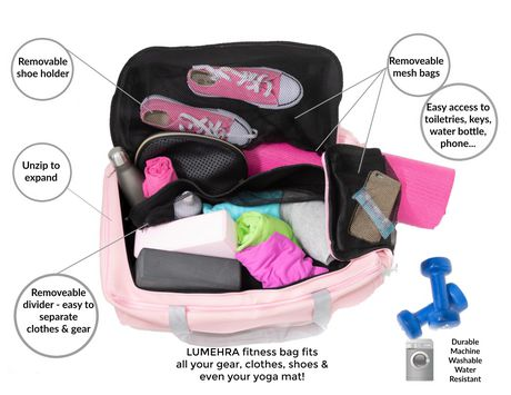 Collapsible Duffle Bag Travel Gym by LUMEHRA - image 6 of 6