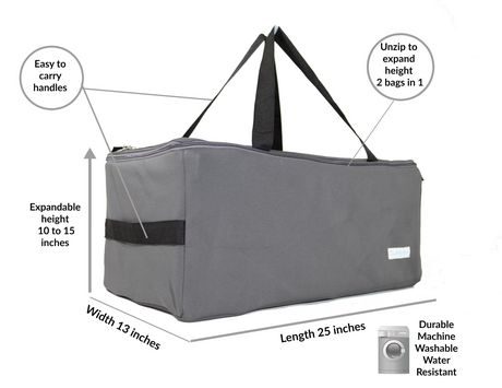 Collapsible Multi-Use Organizer Duffle Bag FlexBag by LUMEHRA - image 2 of 9