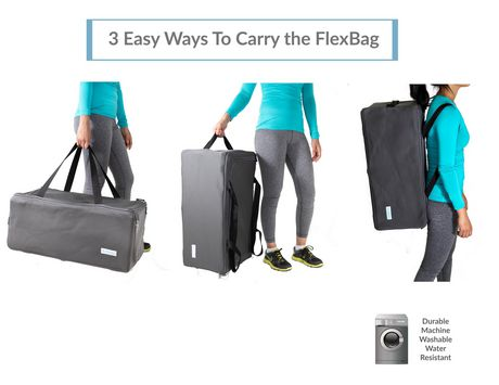 Collapsible Multi-Use Organizer Duffle Bag FlexBag by LUMEHRA - image 5 of 9