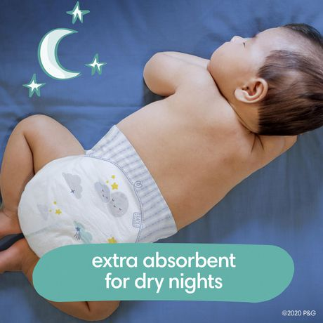 Pampers Swaddlers Overnights Diapers - Super Pack - image 3 of 5