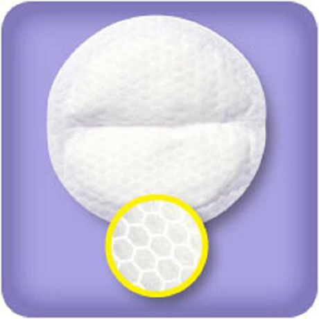 Lansinoh Stay Dry Disposable Nursing Pads, Number One Selling Breastfeeding Pad for Breastfeeding Mothers, Leak Proof Protection, Maximum Comfort And Discretion, 60 Count - image 2 of 4