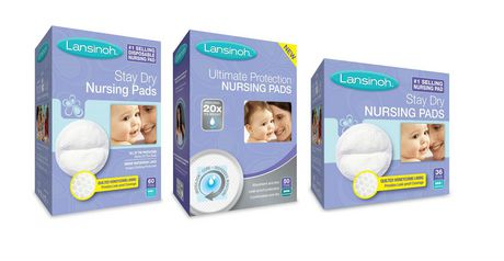 Lansinoh Stay Dry Disposable Nursing Pads, Number One Selling Breastfeeding Pad for Breastfeeding Mothers, Leak Proof Protection, Maximum Comfort And Discretion, 60 Count - image 4 of 4