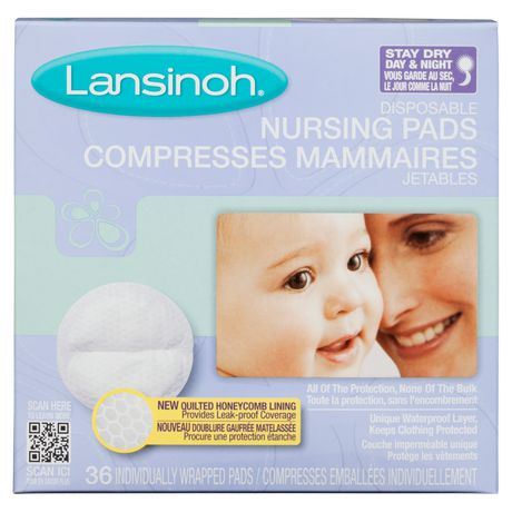 Other Baby Safety & Health pack Of 6 Lansinoh Stay Dry Nursing Pads Disposable Medium 36 Pads Baby Safety & Health