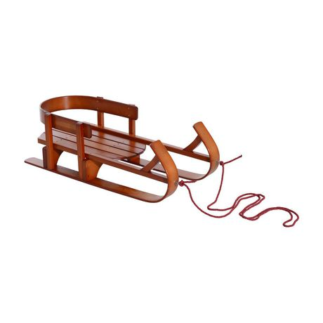 Qaba  Children Wooden Snow Sled - image 1 of 1