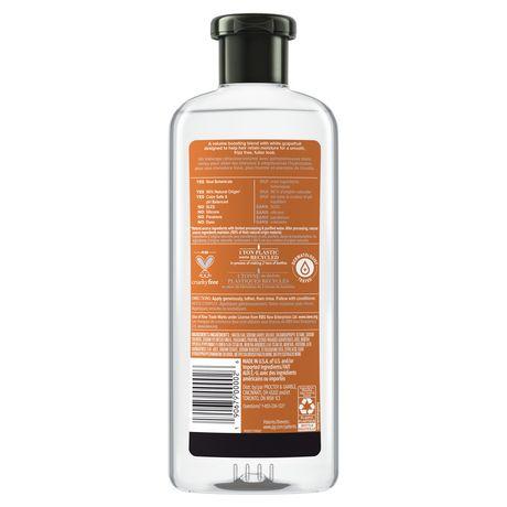Herbal Essences NAKED Volume White Grapefruit & Mosa Mint Shampoo - image 3 of 7