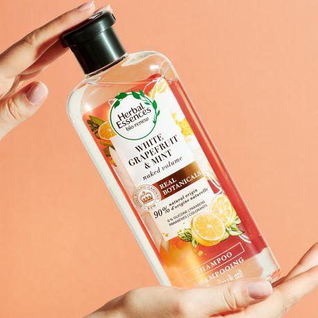 Herbal Essences NAKED Volume White Grapefruit & Mosa Mint Shampoo - image 4 of 7