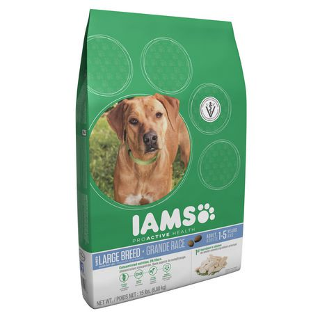Iams Dog Food Amount For Large Breed