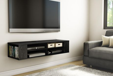 """South Shore City Life 48"""" Wall Mounted Media Console - image 2 of 5"""