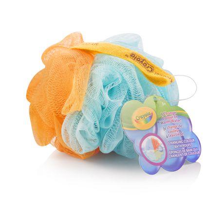 Crayola Éponges de bain qui changent de couleur - image 1 de 3