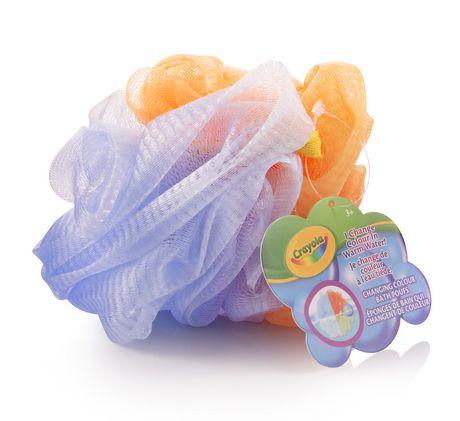 Crayola Éponges de bain qui changent de couleur - image 2 de 3