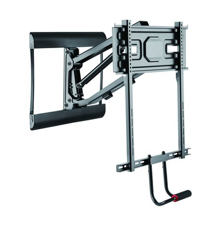 prime mounts full motion pull down over the fireplace tv mount 43 70 walmart canada. Black Bedroom Furniture Sets. Home Design Ideas