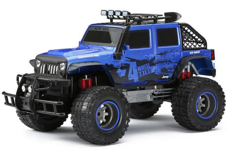 New Bright Rc Jeep Wrangler Walmart