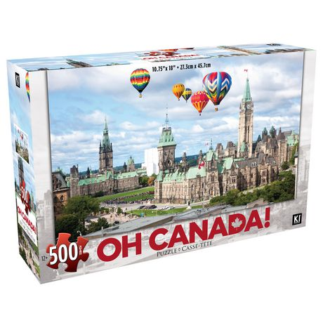 500 Piece Parliament, Ottawa, Oh Canada! Photographic Puzzle - image 1 of 1