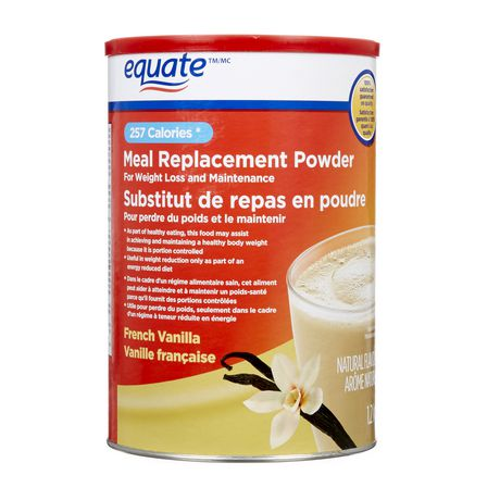 Equate Meal Replacement For Weight Loss And Maintenance