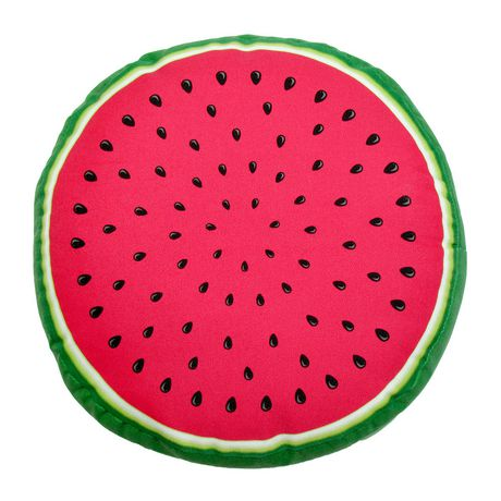 hometrends Watermelon Outdoor/Indoor Round Toss Cushion - image 1 of 2