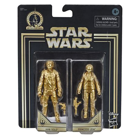 Star Wars Skywalker Saga 3.75-inch Scale Han Solo and Princess Leia Toys Star Wars: The Empire Strikes Back Action Figure 2-Pack - image 2 of 8