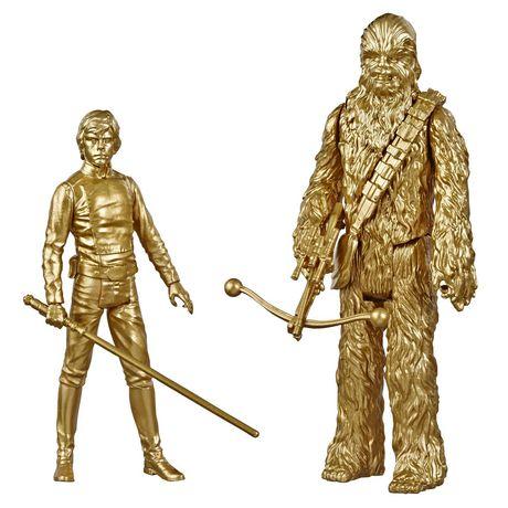 Star Wars Skywalker Saga 3.75-inch Scale Luke Skywalker and Chewbacca Toys Star Wars: Return of the Jedi Action Figure 2-Pack - image 1 of 7