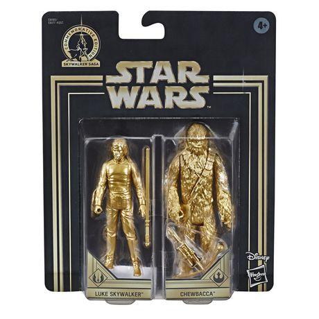 Star Wars Skywalker Saga 3.75-inch Scale Luke Skywalker and Chewbacca Toys Star Wars: Return of the Jedi Action Figure 2-Pack - image 2 of 7