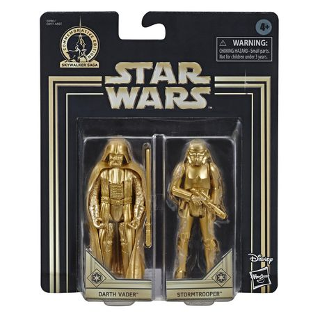 Star Wars Skywalker Saga 3.75-inch Scale Darth Vader and Stormtrooper Toys Star Wars: A New Hope Action Figure 2-Pack - image 2 of 7