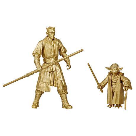 Star Wars Skywalker Saga 3.75-inch Scale Darth Maul and Yoda Toys Star Wars: The Phantom Menace Action Figure 2-Pack - image 1 of 6