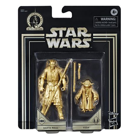 Star Wars Skywalker Saga 3.75-inch Scale Darth Maul and Yoda Toys Star Wars: The Phantom Menace Action Figure 2-Pack - image 2 of 6