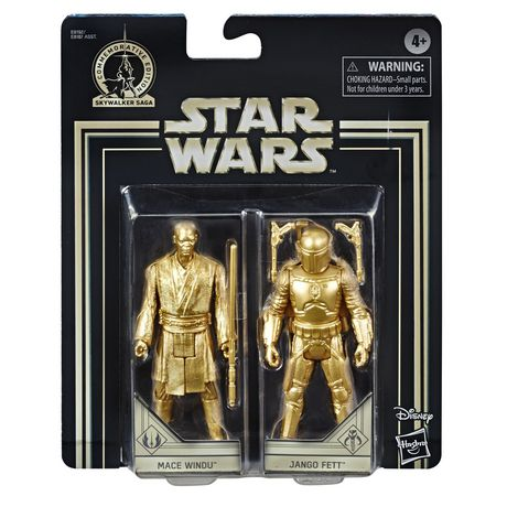 Star Wars Skywalker Saga 3.75-inch Scale Mace Windu and Jango Fett Toys Star Wars: Attack of the Clones Action Figure - image 2 of 6