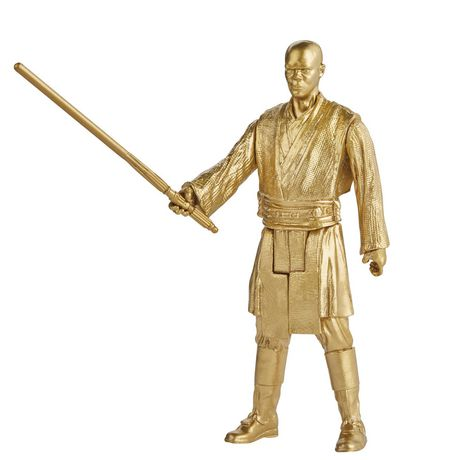 Star Wars Skywalker Saga 3.75-inch Scale Mace Windu and Jango Fett Toys Star Wars: Attack of the Clones Action Figure - image 4 of 6