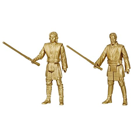 Star Wars Skywalker Saga 3.75-inch Scale Obi-Wan Kenobi and Anakin Skywalker Toys Star Wars: Revenge of the Sith - image 1 of 5
