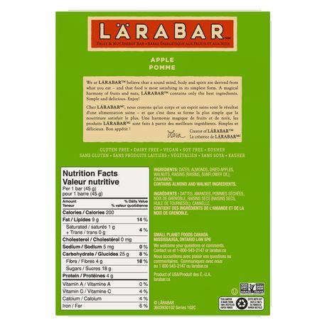 Larabar Gluten Free Apple - image 4 of 8