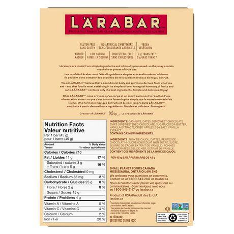 Larabar Gluten Free Chocolate Chip - image 4 of 9