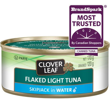 Clover LEAF® Flaked Light Tuna, Skipjack in Water - image 1 of 3