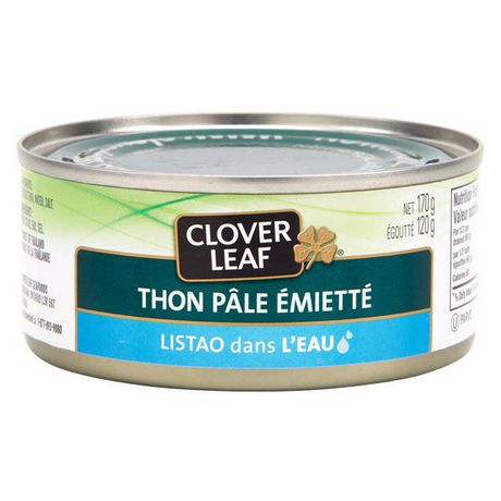 Clover LEAF® Flaked Light Tuna, Skipjack in Water - image 2 of 3