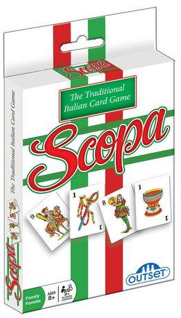 Carte Italie Jeux.Jeu De Cartes Scopa Le Jeu Tradiotional D Italie D Outset Media