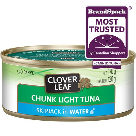 Clover LEAF® Chunk Light Tuna in Water - image 1 of 3