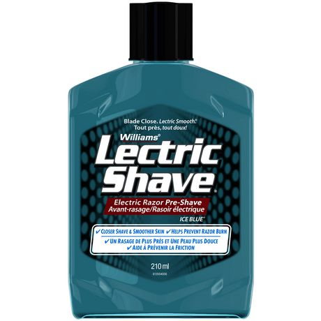 Williams Lectric Shave Electric Razor Pre Shave Ice Blue Walmart