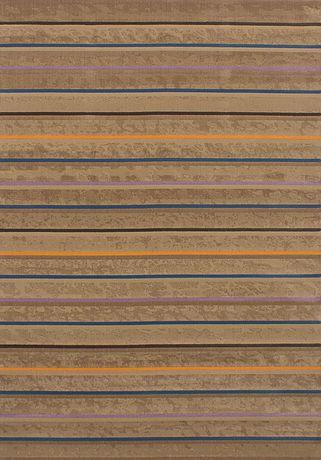 "eCarpetGallery Chateau Brown Polypropylene Rug 5'5"" X 7'9"" - image 3 of 3"
