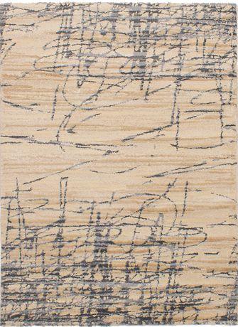 """eCarpetGallery Soho Beige Polypropylene Shag 5'5"""" X 7'8"""" - image 1 of 3"""