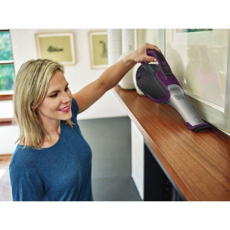 BLACK+DECKER Smartech Cordless Lithium Hand Vacuum with Scent - image 4 of 5