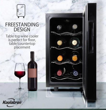 Koolatron WC08 8 Bottle Thermoelectric Wine Cooler - image 4 of 5