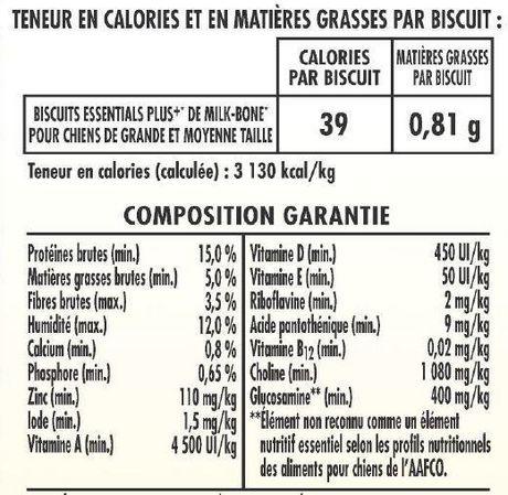Milk-Bone Essentials Plus+ Medium/Large Dog Biscuits 624g - image 5 of 6